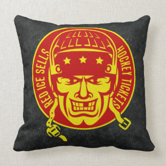 Red Ice Sells Hockey Tickets Throw Pillow
