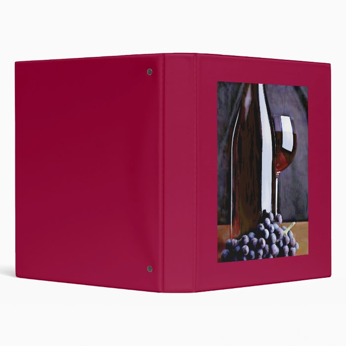 Red in the Shadows Binder