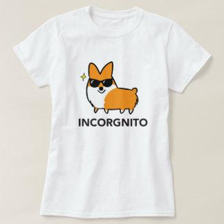 Red Incorgnito Shirt | CorgiThings
