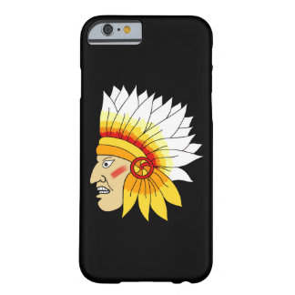 Red Indian Head Barely There iPhone 6 Case