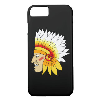 Red Indian Head iPhone 7 Case