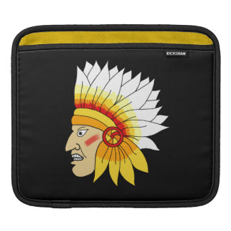 Red Indian Head Sleeve For iPads