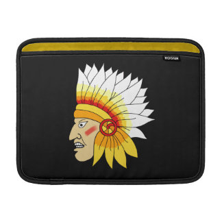 Red Indian Head Sleeve For MacBook Air