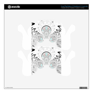 Red Indian latest design.png PS3 Controller Decal
