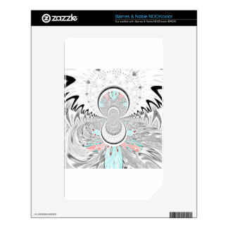 Red Indian latest design.png NOOK Color Decals