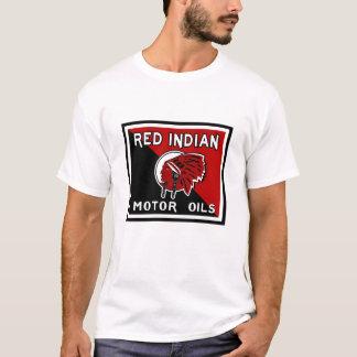 Red Indian Motor Oils vintage sign T-Shirt