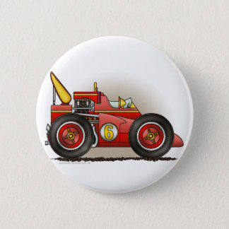 Red Indy Race Car Pins