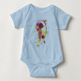 Red Ink Baby Bodysuit