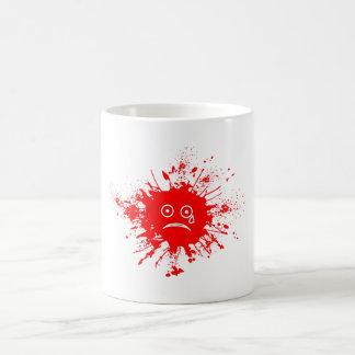 Red Ink Blotch Coffee Mug