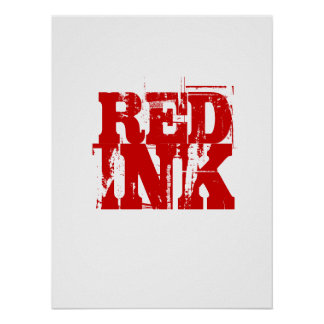 Red Ink Poster