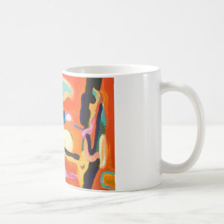 Red Interior ( abstract expressionism ) Coffee Mug