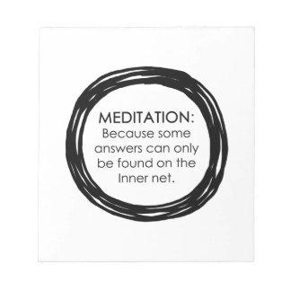 Red interna de la meditación blocs