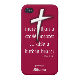Red iPhone Case w/ Cross