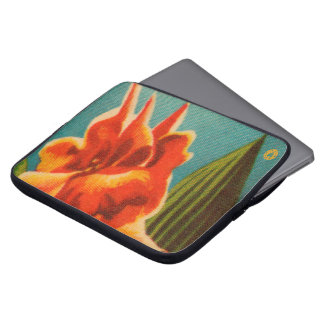 Red Iris Computer Sleeve
