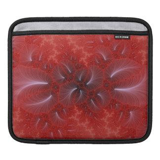 Red Iris iPad Sleeve