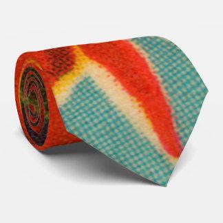 Red Iris Tie