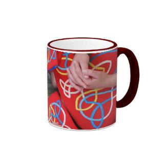 Red Irish Dance Dress Mug