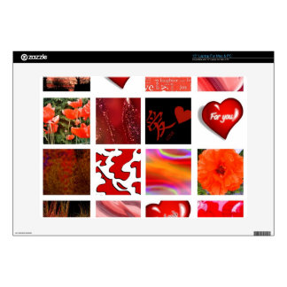 red is Love, rot ist die Liebe, Laptop Decal