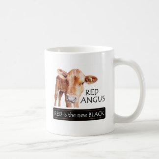 Red is the new Black Coffee Mug