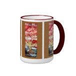 Red is the Sky Silk Painting mug