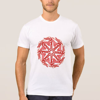 Red Islamic Decoration Men's T-Shirt