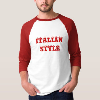 Red ITALIAN STYLE T-Shirt