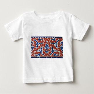 Red Iznik Turkish Tile Ottoman Empire Baby T-Shirt