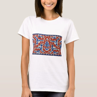 Red Iznik Turkish Tile Ottoman Empire T-Shirt