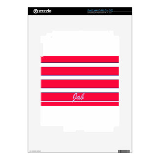 Red Jab Creations Image Decal For iPad 2