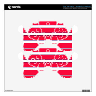 Red Jab Creations Image Decal For PS3 Controller