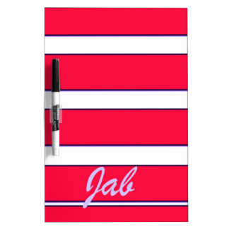Red Jab Creations Image Dry Erase Board