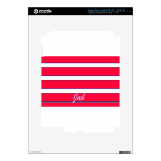 Red Jab Creations Image iPad 3 Decals