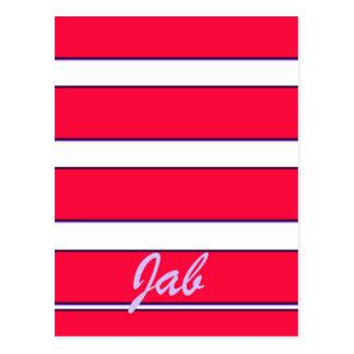 Red Jab Creations Image Postcard