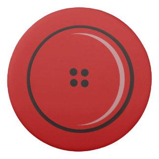Red Jacket Button Funny Eraser