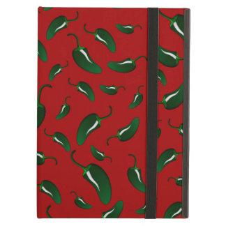 Red jalapeno peppers pattern case for iPad air