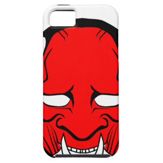 Red Japanese Hannya Mask iPhone 5 Cases