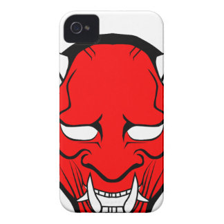 Red Japanese Hannya Mask Case-Mate iPhone 4 Case