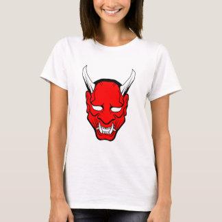 Red Japanese Hannya Mask T-Shirt