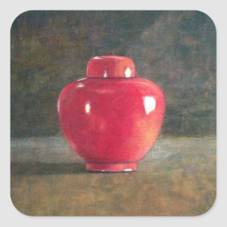 Red Jar 1996 Square Sticker