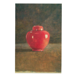 Red Jar 1996 Wood Wall Art