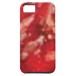 red jelly art iPhone SE/5/5s case