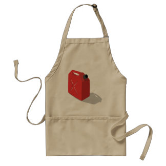 Red Jerrican Apron