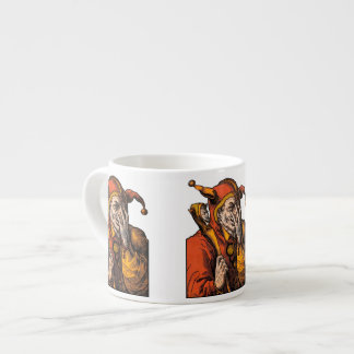 Red Jester Espresso Cup