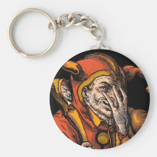 Red Jester Keychain