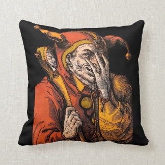 Red Jester Pillow