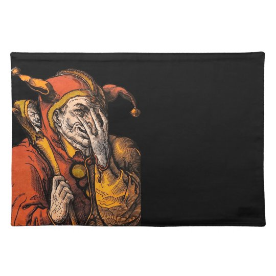 Red Jester Placemat