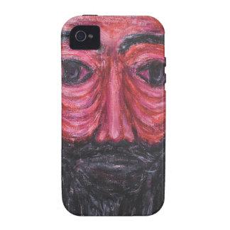 Red Jesus in Gethsemane (  expressionism Jesus ) iPhone 4/4S Cases