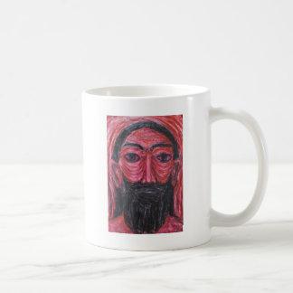Red Jesus in Gethsemane (  expressionism Jesus ) Coffee Mug