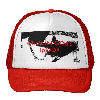 RED JESUS JUICE CAP MESH HATS
