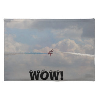 Red jets close shave WOW Place Mats